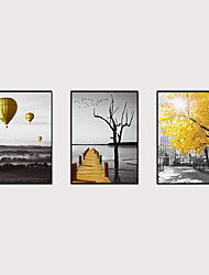 cheap -Framed Art Print Framed Set - Abstract Landscape PS Poster Wall Art