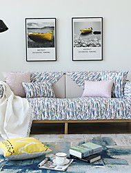 cheap -Slipcover Quilted Sofa Cover Polyester/ Cotton Blend Different Styles to Choose Couch Cover with Anti-Slip Foam