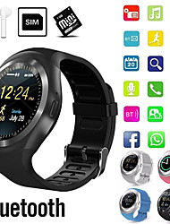 cheap -Indear Y1 Men Women Smartwatch Android iOS Bluetooth 2G Waterproof Touch Screen Sports Calories Burned Hands-Free Calls Timer Stopwatch Pedometer Call Reminder Activity Tracker
