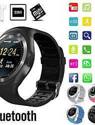 Недорогие -Indear Y1 Мужчина женщина Смарт Часы Android iOS Bluetooth 2G Водонепроницаемый Сенсорный экран Спорт Израсходовано калорий Хендс-фри звонки