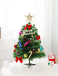 cheap -Christmas Trees Christmas Tree Plastic Christmas tree Party Christmas Decoration