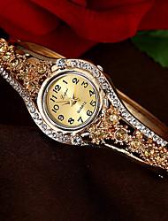 cheap -Women's Bracelet Watch Quartz Vintage Style Stylish No Casual Watch Imitation Diamond Analog Luxury Elegant - White Purple Champagne One Year Battery Life