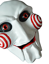 cheap -Holiday Decorations Halloween Decorations Halloween Masks Party / Decorative White 1pc