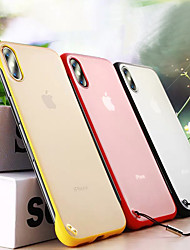 cheap -Case For Apple iPhone 11 / iPhone 11 Pro / iPhone 11 Pro Max Dustproof / Frosted Back Cover Solid Colored PC