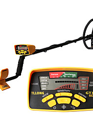 cheap -GTX500 YELLOW LCD DISPLAY UNDERGROUND GOLD METAL DETECTOR WITH FIVE DETECTING MODE