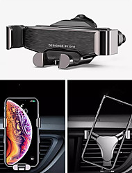 cheap -Metal Gravity Air Vent Car Phone Holder