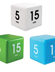 cheap -Cube Timer Yoga Timer Nap Reminder Kitchen Timer 5 15 30 And 60 Minutes Supply Management Time