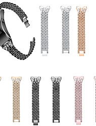 cheap -Suitable for huawei B5 diamond-encrusted bracelet stainless steel chain set auger steel belt strap 18 mm diamond studded strap