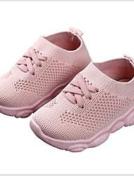 Недорогие -Девочки Удобная обувь Сетка Спортивная обувь Маленькие дети (4-7 лет) Черный / Белый / Розовый Лето