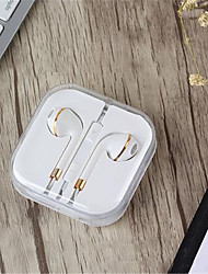 cheap -3.5mm In-ear Earphone Wired Earphones earbud headset Stereo With Box For IPhone 4 s 5 5s 6 6s 6splus For Ipad 2 3 4 Mini Mp3 Mp4