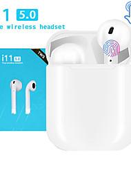 Недорогие -LITBest i11 TWS True Беспроводные наушники Беспроводное EARBUD Bluetooth 5.0 С микрофоном С зарядным устройством