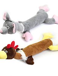 cheap -Plush Toy Squeaking Toy Teeth Cleaning Toy Dog Play Toy Dog 1pc Pet Friendly Animals Plush Gift Pet Toy Pet Play
