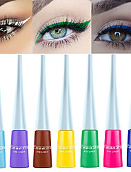 cheap -CmaaDu 12 Color Matte Eyeliner Waterproof Long Lasting Eye Shadow Liquid No Dizzy Dye Eye Makeup