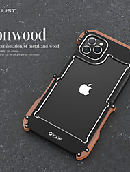 cheap -Case For Apple iPhone XS / iPhone XR / iPhone XS Max Shockproof Back Cover Solid Colored Aluminium