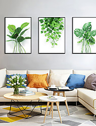 cheap -Framed Art Print Framed Set - Botanical Floral / Botanical PS Photo Wall Art