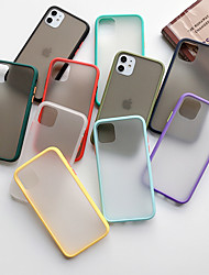 cheap -Case For Apple iPhone 11 / iPhone 11 Pro / iPhone 11 Pro Max Frosted Back Cover Transparent Acrylic / Silica Gel