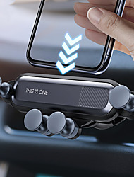 cheap -Gravity Car Holder Phone in Car Air Vent Clip Mount No Magnetic Mobile Phone Holder GPS Stand for iPhone 11  Huawei P30 Samsung Note 10 Xiaomi CC9