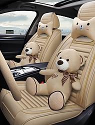 Недорогие -пять подушек сидений автомобиля четыре сезона универсальная подушка сиденья чехлы для белья. совместимая подушка безопасности. в том числе 2 подушки для головы и талии