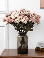 Недорогие -принцесса пион цветок симулятор цветок свадебный матч комплект украшения дома
