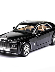 cheap -1:24 Toy Car Vehicles Car SUV Special Designed Glow Parent-Child Interaction Zinc Alloy Rubber All Boys and Girls