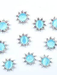Недорогие -10 шт. / Упак. Сделай сам горный хрусталь букет хрустальная лиса снежинка алмаз форма винограда украшения ногтей украшения маникюр