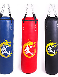 cheap -Punching Bag Heavy Bag Kit Sandbag For Taekwondo Boxing Karate Martial Arts Adjustable Durable Empty Strength Training 360° Rotation PU 1 pcs Adults Black Red Blue