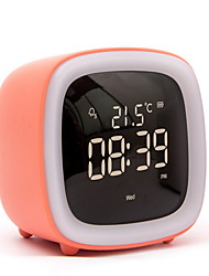cheap -Alarm clock LED Plastics LED 1 pcs