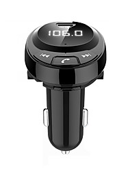 cheap -BT09 Bluetooth 5.0 Car Kit Handsfree Car Charger Over-current Protection / Over-voltage Protection / Multi-Output