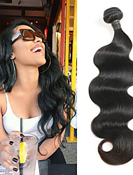 cheap -Brazilian Body Wave Hair Weave Bundle Natural Color 100% Human Hair Weaving 1 Piece 12-30 Inch Remy Hair Extension