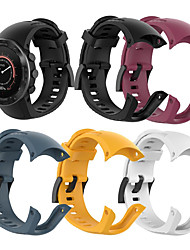 cheap -Silicone Strap For Suunto 5 5 Fitness Band Watch Outdoor Sport Smart Watch Bracelet For Man and Women