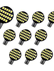 Недорогие -10 шт. T10 Автомобиль Лампы 2 W SMD 2835 300 lm 24 Светодиодная лампа Подсветка для номерного знака / Рабочее освещение / Задний свет Назначение Универсальный Avenger / Elysee / 9-5
