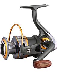 cheap -Fishing Reel Spinning Reel / Electric Reel Gear Ratio+3 Ball Bearings Hand Orientation Exchangable General Fishing - 4000