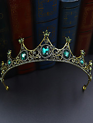 cheap -Tiaras Crown Masquerade Royal Style Halloween Alloy For Princess Aurora Cosplay Halloween Carnival Women's Costume Jewelry Fashion Jewelry
