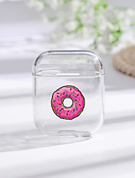cheap -Painted Donut Bluetooth Earphone Case For Apple AirPods 1/2 Soft Silicone Charging Headphones Cases For Airpods Protective Cover