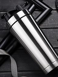 Недорогие -Нержавеющая сталь спортивная бутылка для воды герметичный протеин смешивания более здоровый молочный коктейль шейкер + встряхивая мяч (500 мл)