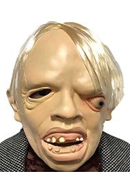 cheap -Mask Halloween Props Halloween Mask Inspired by Ghost Scary Movie White Masks Halloween Halloween Men's Women's