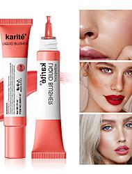 cheap -Professional Bronzer Blush liquid Face Mineral Blusher Pigment Matte Contour Palette Long Lasting Natural Concealer