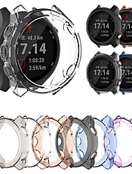 cheap -Soft Ultra-Slim Crystal Clear TPU Protector Case Cover For Garmin Forerunner 245/245M Smart Watch Protective Accessories