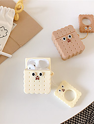 cheap -New Square Trunk Suitcase Earphone Cover for Airpods 2 Headphone Case Silicone Cartoon Accessories Cover For Apple Air Pods