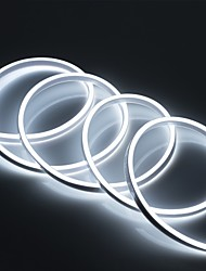 cheap -1pc 2m 220V Silicone LED Neon Rope Lights Flexible Waterproof Strip Lights for DIY Indoor Outdoor Decorative Signs Letters