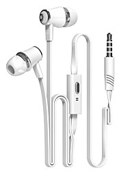 cheap -Langsdom JM21 Wired In-ear Earphone Wired Mobile Phone Noise-Cancelling Stereo with Microphone