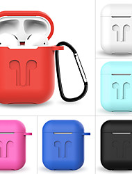 cheap -Applicable Apple Airpods Protective Cover Wireless 2 Generation Bluetooth Headset Shatter-Resistant Silicone Protective Cover 1Pc