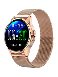 cheap -R23 Smartwatch Stainless Steel BT Fitness Tracker Support Notify/ Blood Pressure Measurement Sports Smart Watch Compatible Samsung/ Iphone/ Android Phones