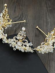 cheap -Rhinestone / Alloy Tiaras with Rhinestone 1 Piece Wedding Headpiece
