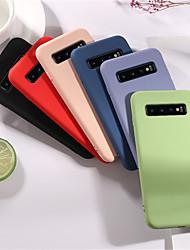 Недорогие -Мягкий жидкий силиконовый чехол для Samsung Galaxy S10 S10E S10 Plus S9 S9 Plus S8 S8 Plus