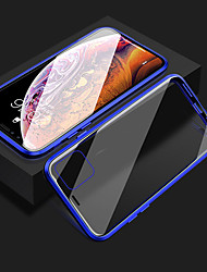cheap -Magnetic Phone Case for iPhone 11 iPhone XR Clear Phone Case 360 Protection Double Sided Glass Metal Shockproof Protective Case for 11 ProMax SE2020 XS MAX X iPhone 8 7 Plus