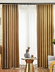 cheap -Nordic Luxury Style High-End Double-Sided Chenille Flannel Curtain Living Room Bedroom Dining Room Curtain