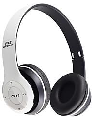 abordables -LITBest P47 Casque sur l'oreille Sans Fil Sport & Fitness Bluetooth 5.0 Suppression du Bruit Stereo Dual Drivers