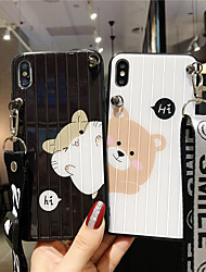 cheap -Case For Apple iPhone 11 / iPhone 11 Pro / iPhone 11 Pro Max Pattern Back Cover Cartoon Acrylic