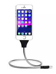 cheap -Stand UP USB Charging Data Cable Phone Charger Palm Bracket Holder For  Android  Smartphones